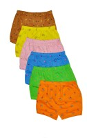 Njoy Brief For Boys(Multicolor Pack of 6)