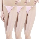 FIHA Women's G-string Pink Panty (Pack o...
