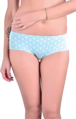 Naughtee Women's Hipster Light Blue Panty