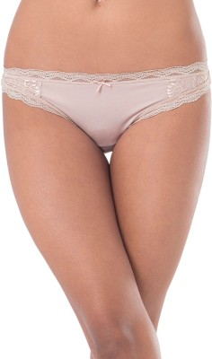 PrettySecrets Womens Thong Beige Panty(Pack of 1)
