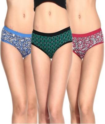 Ultrafit UL-P3001-5-6-7 Women's Brief Multicolor Panty