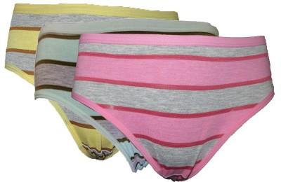 Bodymist Women's Brief Pink, Green, Blue Panty