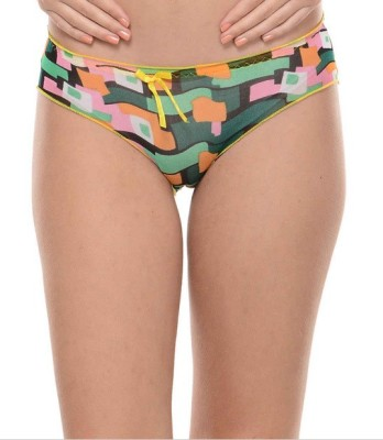 Ploomz Fashion Women's Hipster Multicolor Panty