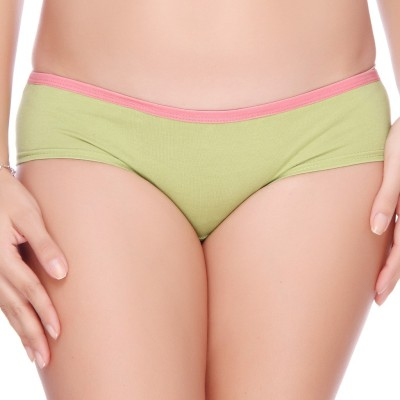Big Tree Style Diva Women's Bikini Green Panty(Pack of 1) at flipkart