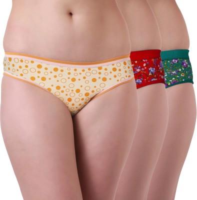 Tweens Women's Brief Multicolor Panty