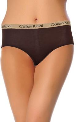 Cailan Kalai Women's Hipster Brown Panty