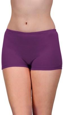 99DailyDeals Womens Boy Short Purple Panty