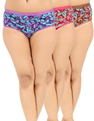 Softfeel Women's Hipster Multicolor Panty