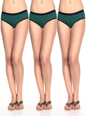 LovinoForm Stylist Women's Hipster Green Panty