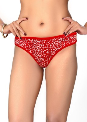 Pusyy WildCat Women's Bikini Red Panty