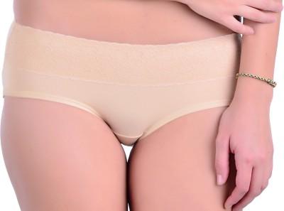 Naughtee Women's Hipster, Brief Beige Panty