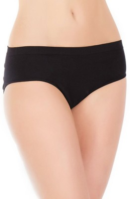 FIHA Women's Bikini Black Panty