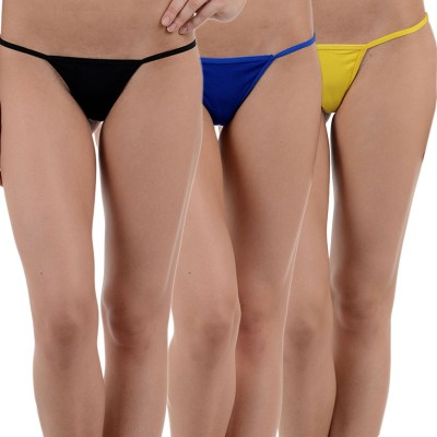 Aws Fashion Women's G-string Multicolor Panty