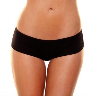 Hustler KPHSP-04 Women's Brief Black Panty