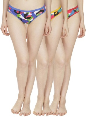 Girls Care Women's Hipster Multicolor Panty