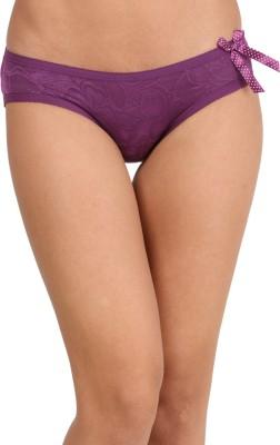 WOLFIE Women's Hipster Purple Panty