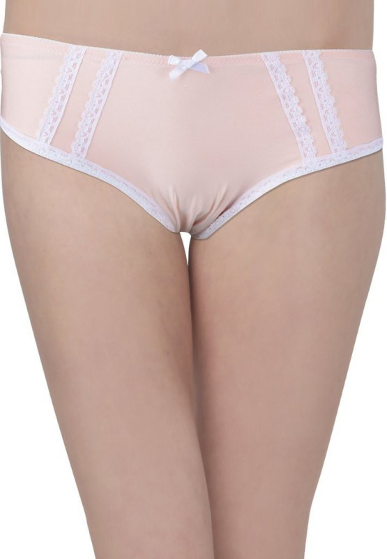 Hey It's Me Women's Brief Pink Panty(Pack of 1)