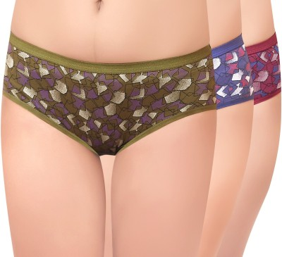 Curves n Shapes CnS Women's Hipster Multicolor Panty