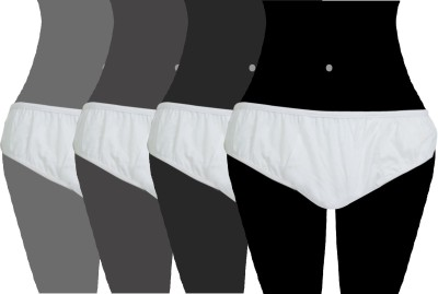 Travelkhushi Undergarments Women's Disposable White Panty