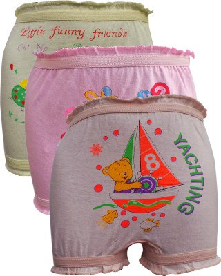 Lure Wear BMRCOL03 Girls Brief Multicolor Panty