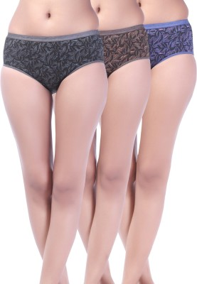 Softfeel Sf 45 Women's Hipster Multicolor Panty