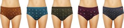 e-Fresh Women's Brief Multicolor Panty