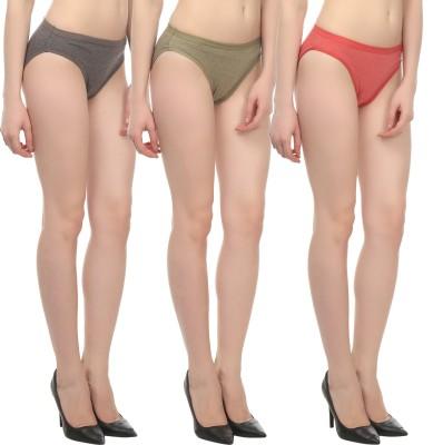 Custom Creation Women's Brief Multicolor Panty