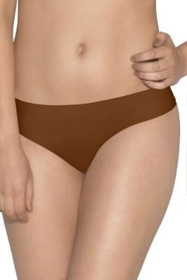 Amante Women's Thong Brown Panty