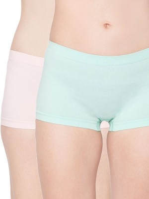 Channel Nine Women's Hipster Pink, Green Panty