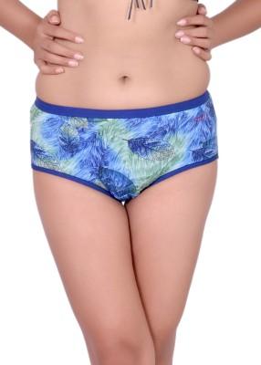 Pusyy Women's Hipster Blue Panty(Pack of 1) at flipkart
