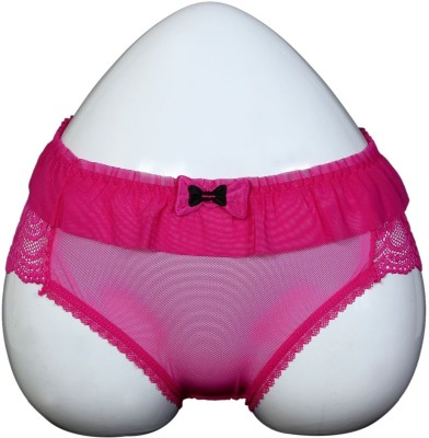Q-Rious Women's Hipster Pink Panty