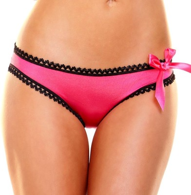 Hustler KPHP22 Women's Thong Pink Panty