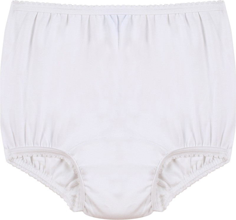 Ever Sures Women's Brief White Panty(Pack of 1)