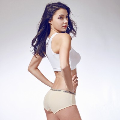 Cailan Kalai Women's Hipster Beige Panty