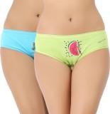 Vaishna Women's Brief Green, Blue Panty ...