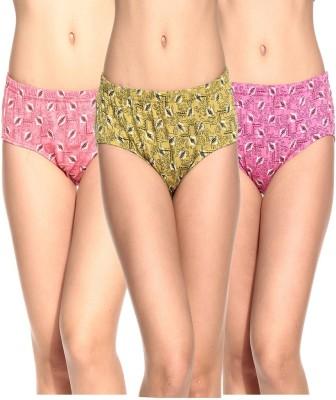 Ultrafit UL-P4008-7-8-9 Women's Brief Multicolor Panty