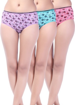 Softfeel Sf 46 Women's Hipster Multicolor Panty