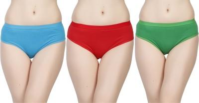 Deep Under Women's Brief Blue, Red, Green Panty