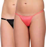 Urbaano Black Women's G-string Black, Or...