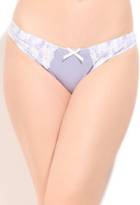 Debenhams Women's Bikini White Panty