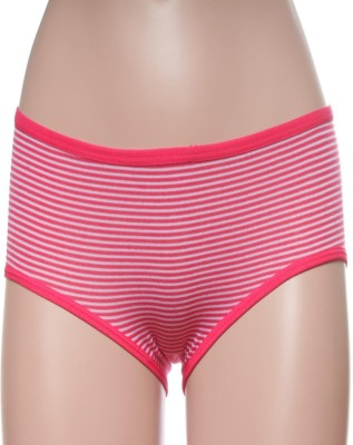 Feminin Women's Hipster Pink Panty
