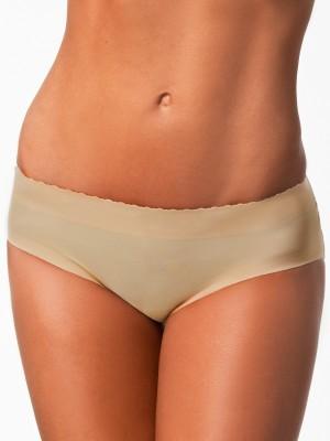 PrivateLifes Butt Lifter Low Waist Panties Women's Brief Beige Panty
