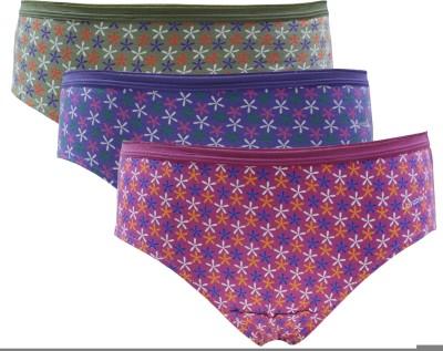 Lovable Women's Brief Multicolor Panty