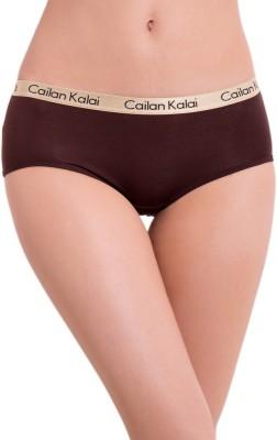 Cailan Kalai Women's Bikini Brown Panty
