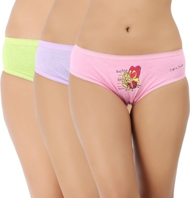 Vaishna Women's Brief Pink, Green, Purple Panty