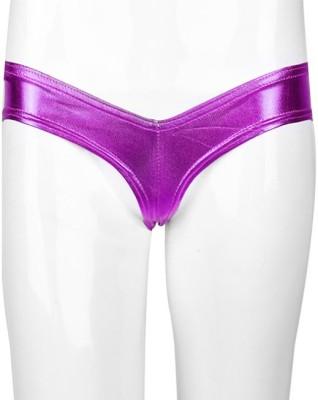 YRD Metallic Women's Brief Purple Panty