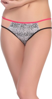 Clovia Women's Bikini Black Panty(Pack of 1) at flipkart