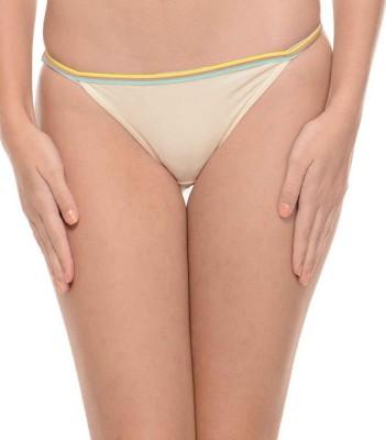 Ploomz Fashion Women's Bikini Beige Panty