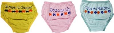 You Got Plan B Girl's Bikini Light Blue, Pink, Light Green Panty