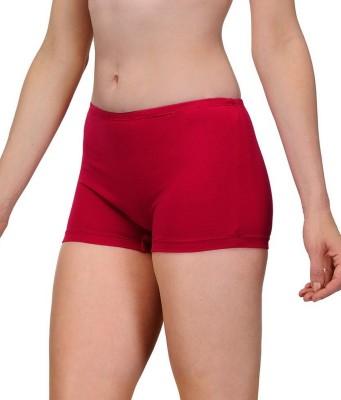 99DailyDeals Womens Boy Short Maroon Panty